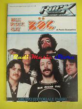 BLUE OYSTER CULT BOC rock storia e musica 26 Scarpellini FABBRI no cd vhs mc dvd