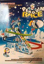 Penguin RACE Slide GIOCO A BATTERIA GIOCATTOLO PISTA DA SCI