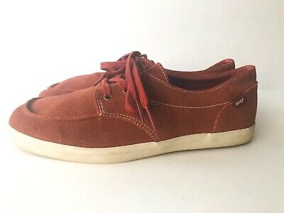 9764965f98a Details about Reef Mens Deck Hand 2 Suede Maroon Boat Shoes Size 10