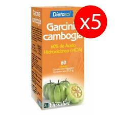 Pack 5 unds. Garcinia Cambogia 60 cápsulas 603 mg DIETASOL YNSADIET
