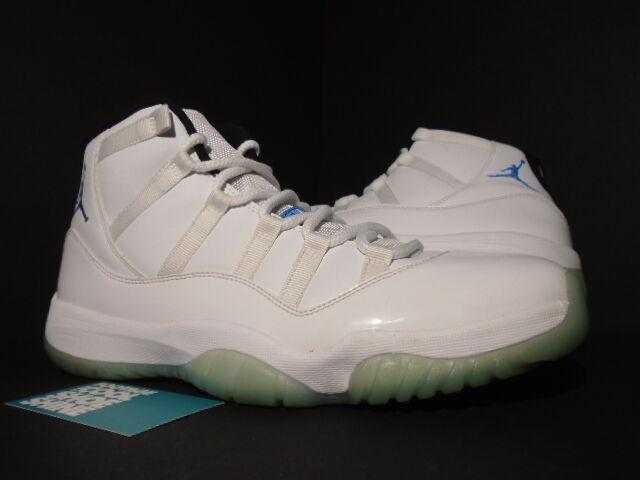 2018 Nike Jordan XI 11 COLUMBIA Retro Blanco Air LEGEND COLUMBIA 11 Azul Negro UNC 378037117 d0e763