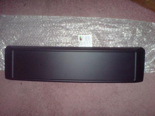 Skoda Fabia Vrs MK1 Front Number Plate Plinthe Brand New Original OEM Part