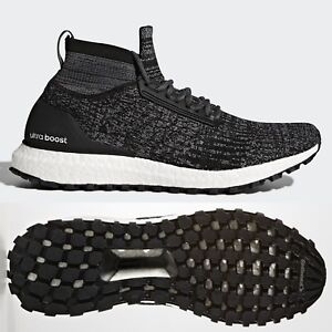 af5ca835894 Image is loading adidas-UltraBOOST-All-Terrain-Mens-Oreo-Black-Trainers-