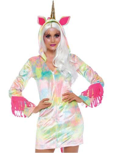 Leg Avenue Enchanted Unicorn Hoodie Costume Hooded Women/'s Dress Magical XS-LG