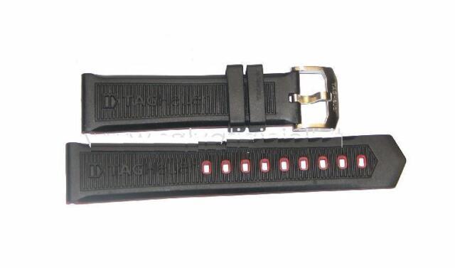 9b04e8f0ca53 TAG HEUER FORMULA 1 KIMI RAIKKONEN rubber strap 22mm BT0718 buckle included