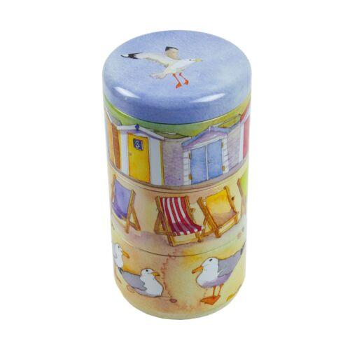 Emma Ball Tout Neuf Lot de 3 empilable stockage Boîtes-Seaside COASTAL DESIGN