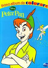 Peter Pan primo album da colorare -Disney Libri - Libro nuovo in offerta !