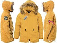 Alpha Industries Altitude Men Parka Extreme Cold Weather Tumbleweed Size 2xl Reg