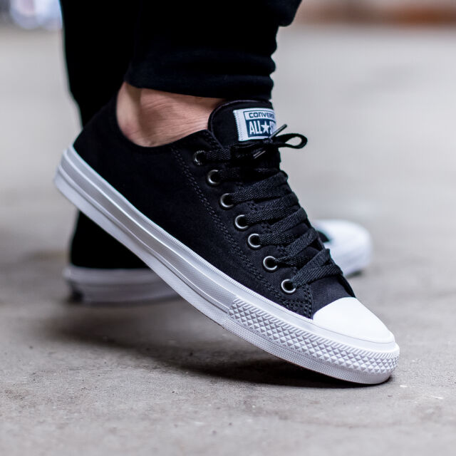 Converse Black White Men Converse Ii Shoes Chuck Taylor All