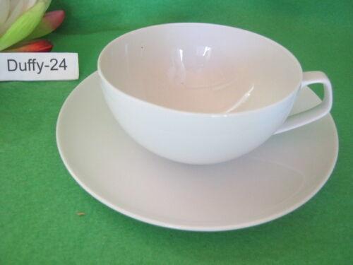 Teetasse  2 tlg  weiß Gropius TAC von Rosenthal mehr da