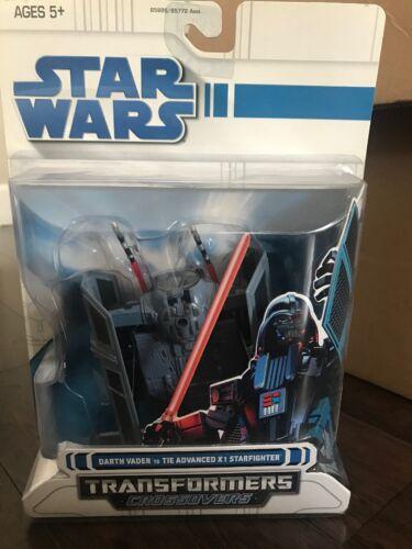 Crossovers transformers Crossovers darth Vader 2008 Nib X1 Starfighter Hasbro 653569392729
