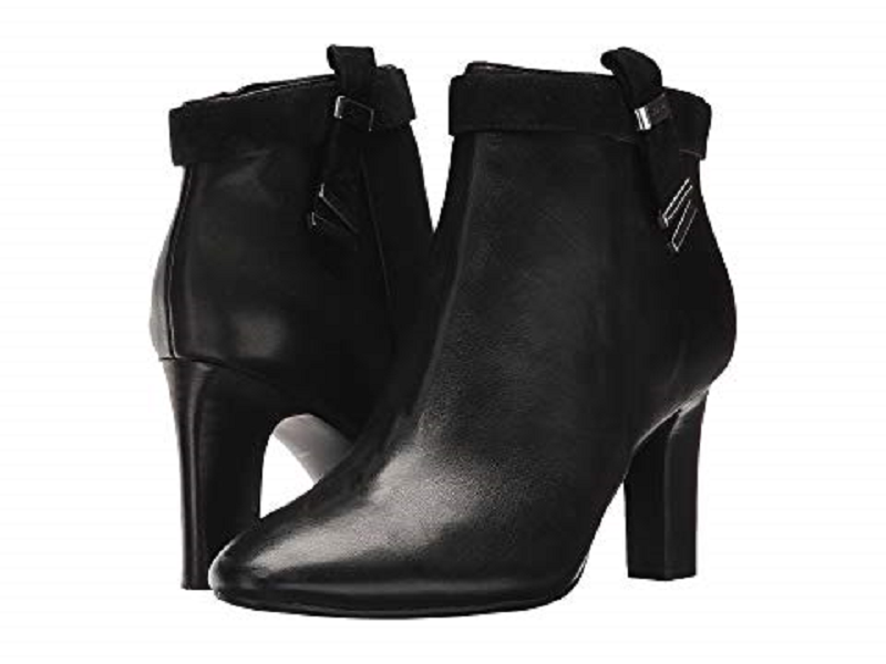 NEW RALPH LAUREN schwarz schwarz schwarz LEATHER StiefelIES Stiefel Größe 8 M  150 489e4c