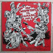 MIDWEST versus CANADA Vol.2 - 500 numbered LPs Pebbles Boulders 60's Punk Garage