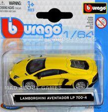 LAMBORGHINI AVENTADOR 1:64 Car Model Metal Diecast Models Cars Die Cast