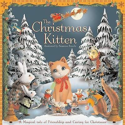 Christmas Kitten (Giant Embossed)  Susanna Ronchi Book