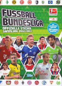 Topps-Bundesliga-2012-13-Leer-Album-unbenutzt