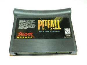 Pitfall-Mayan-Adventure-Atari-Jaguar-Game-Cart-Tested-USA-Authentic