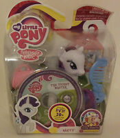2011 Hasbro My Little Pony Rarity Figure W/dvd -