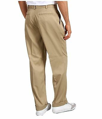 dispersione Insignificante Rosso  NIKE GOLF men's pants; KHAKI, Pleated front, Unhemmed; Multiple sizes;  214502 | eBay
