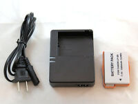 Charger Lc-e8c And Battery Lp-e8 For Canon Rebel Sl1, T2i, T3i, T4i, T5i Cameras
