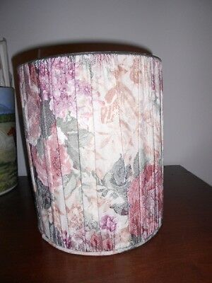 Croscill Cotswold Fabric Wastebasket Used but excellent shape