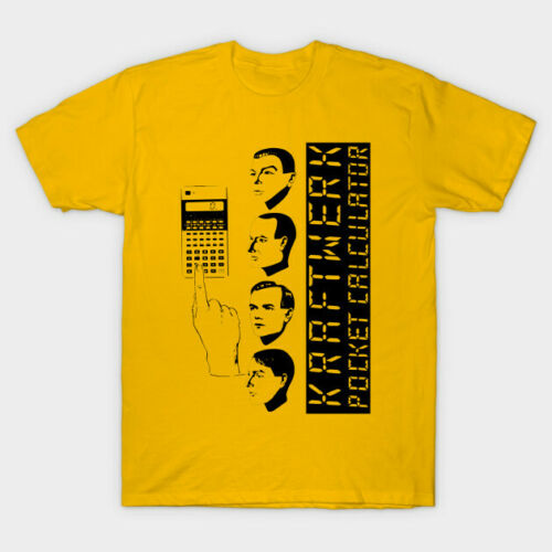 kraftwerk computer world t shirt Vintage Gift For Men Women Funny Tee