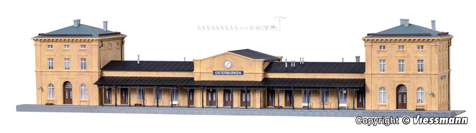 Kibri n 37706 la estación osterburken nuevo en el embalaje original