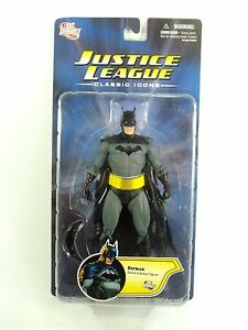 Dc Universe - Icônes directes de la ligue de justice Batman sur une carte   Dc Universe - Direct Batman Justice League Icons On Card New