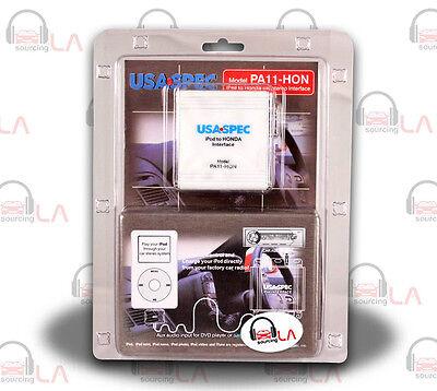 USA SPEC PA11-HON CAR AUDIO IPOD INTERFACE FOR HONDA FACTORY RADIO W/ AUX INPUT