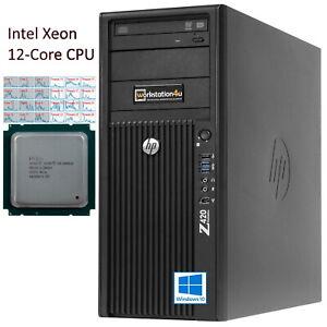 12Core-Extrem-CPU-HP-Z420-Workstation-Intel-Xeon-E5-2696v2-NVIDIA-Quadro-SSD-W10