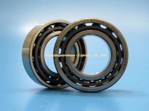 NSK 7005A5TYNSULP4Y Abec-7 Super Precision Spindle Bearings.Matched Set of 2