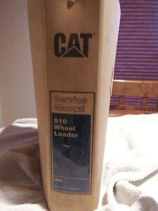 CAT-Caterpillar-Service-Repair-Manual-910-Wheel-Loader-REG01330