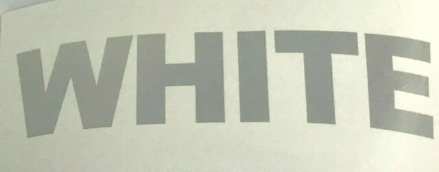 Reflexite V92 Reflective DAYBRITE Vinyl Letters Custom Cut