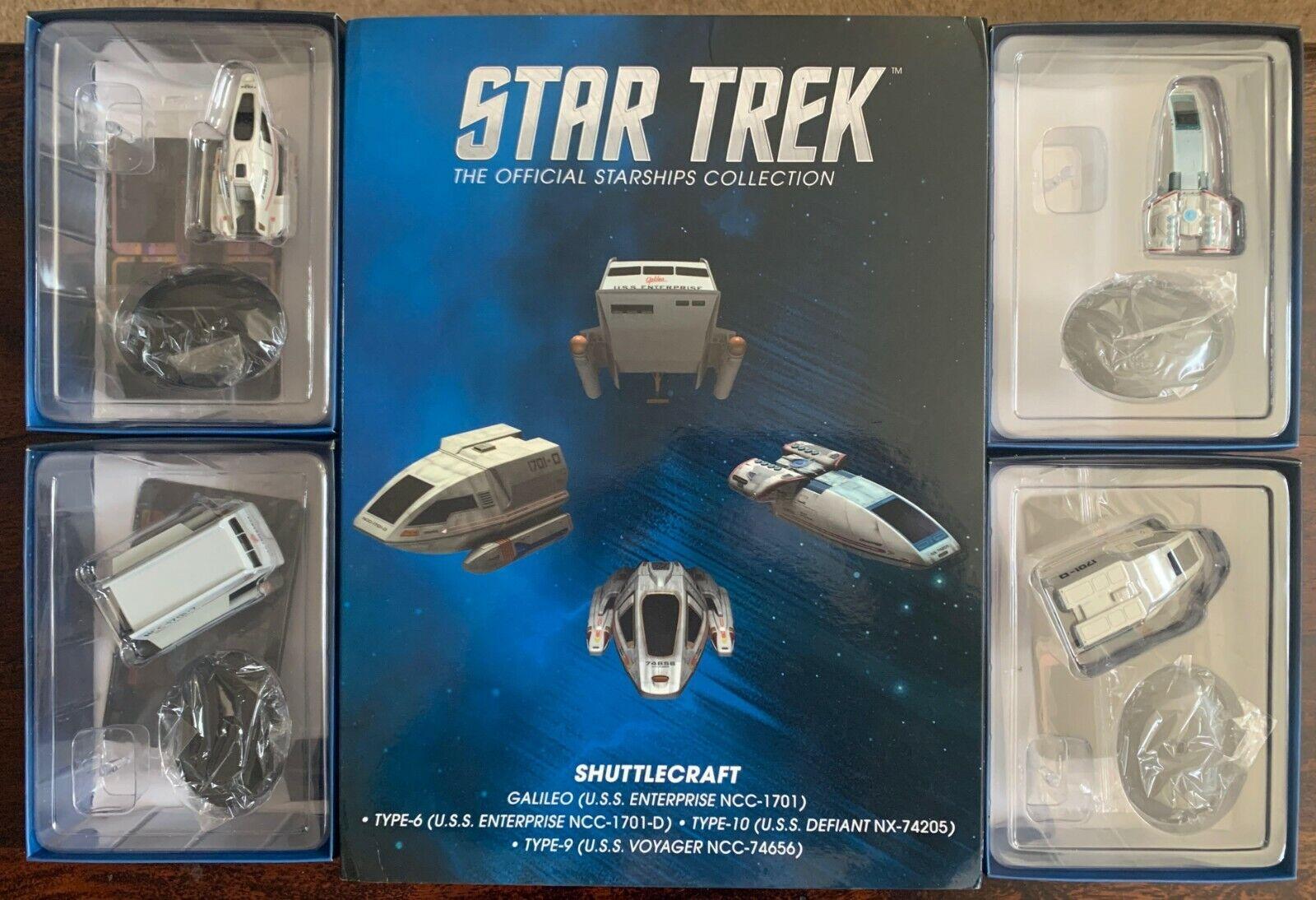 EAGLEMOSS  Star Trek Starships Shuttlecraft Set 1  nous prenons les clients comme notre dieu