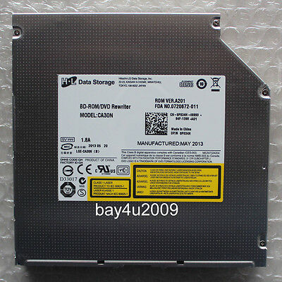 CA30P     SATA  slot-in  Blu-ray  combo BD-ROM drive with 12.7mm thickness