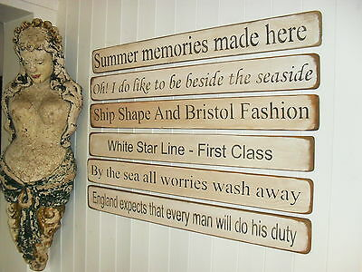 Shabby Chic Signs Antique Nautical