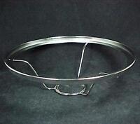 Aladdin Lamp 10 Shade Ring Holder Nickel Plt 2 1/16 Under Burner Kerosene Oil