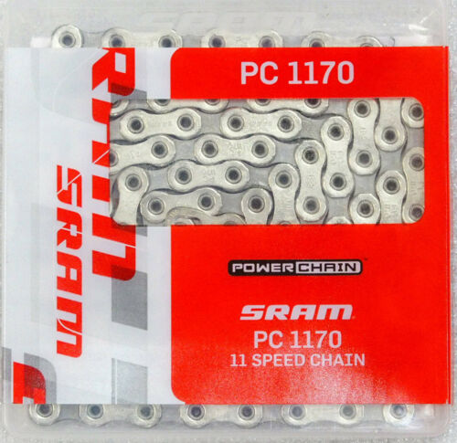 SRAM PC-1170 PC1170 11 Speed Chain 114 Links fits RED 22 FORCE 22 RIVAL 22
