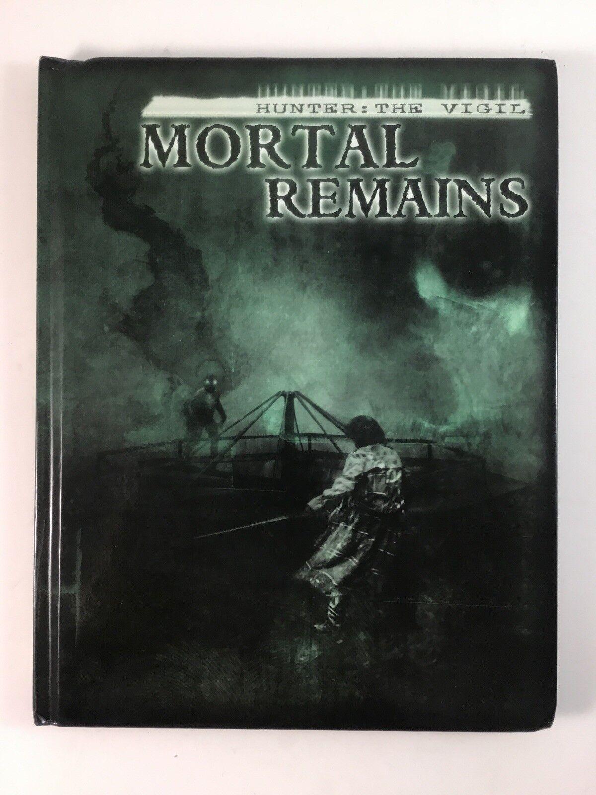 Hunter The Vigil Mortal förblir Hard Cover 2014 RPG