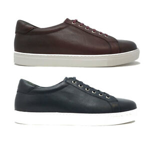 0f4af7571fda8 Details about Futoli Handmade 100% Genuine Leather Comfortable Sneakers