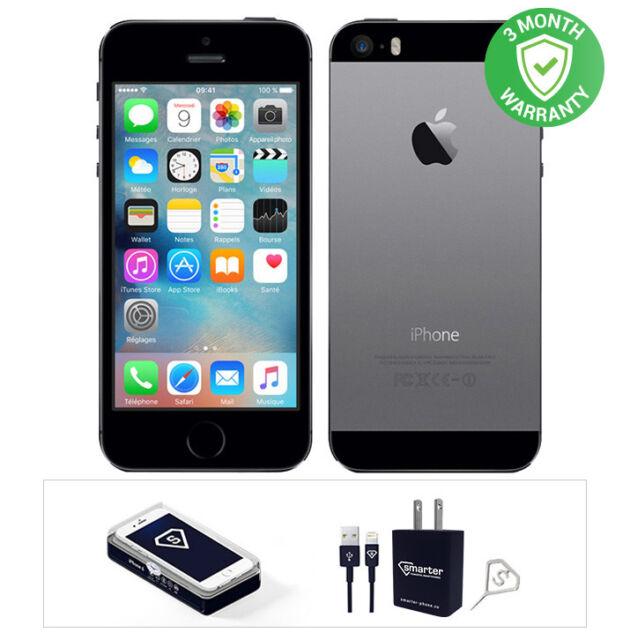 Apple iPhone 5s - 16GB - Space Gray (Unlocked) A1533 (CDMA ...