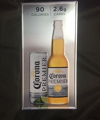 Corona Premier Beer Tin Sign 23 X12 New Bottle And Can Ebay