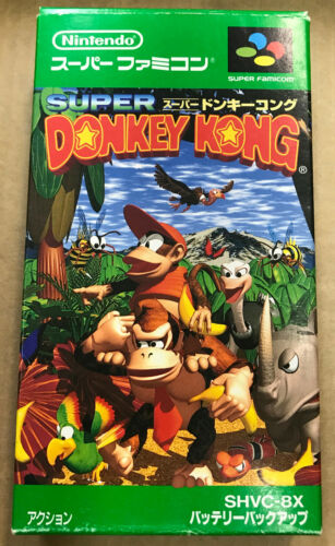 Super Donkey Kong JAPAN Super , 1994
