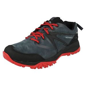 20155439e1b5 MENS MERRELL CAPRA BOLT LEATHER WATERPROOF WALKING HIKING TRAINERS ...