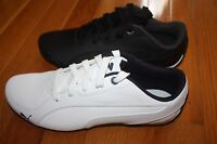 Brand In Box Puma Drift Cat 5 Leather Men's Shoes White Or Black