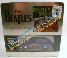 THE BEATLES TIN COLLECTORS SET DIECAST TAXI & XL T-SHIRT & PLAQUE FOR YOU BLUE