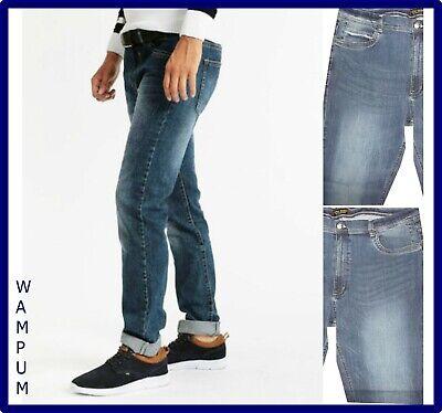 Wrangler jeans texas stretch regular fit da uomo a vita alta gamba dritta W30 31