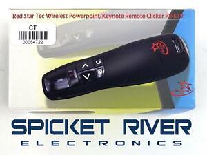 Red Star Tec PR-819 Wireless Powerpoint and Keynote Presentation Remote Clicker