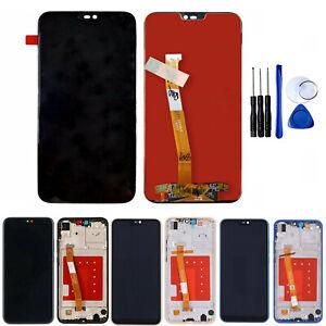 LCD-TOUCH-SCREEN-FRAME-Per-Huawei-P20-Lite-VETRO-SCHERMO-DISPLAY-TELAIO-Tool-Hot