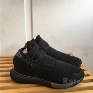 625c8ddb36c0f Adidas Y-3 Qasa High CP9854 Triple Black Men Size US 9 NEW 100 ...